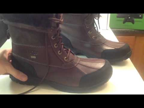 BEST MEN'S WINTER BOOTS OVERALL!! - Ugg Men's Brutte Boots [Review]