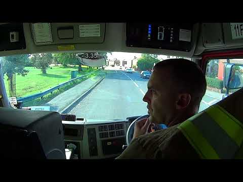 firecall: inside the cab as West Yorkshire Fire turn out to an incident in Leeds