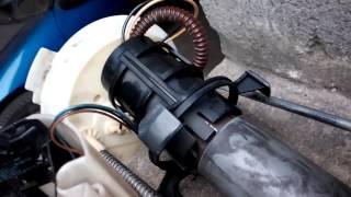 Попытка замены топливного насоса на skoda octavia a5