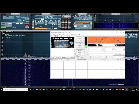 (LIVE STREAM) SSTV Decoding From The International Space Station ISS