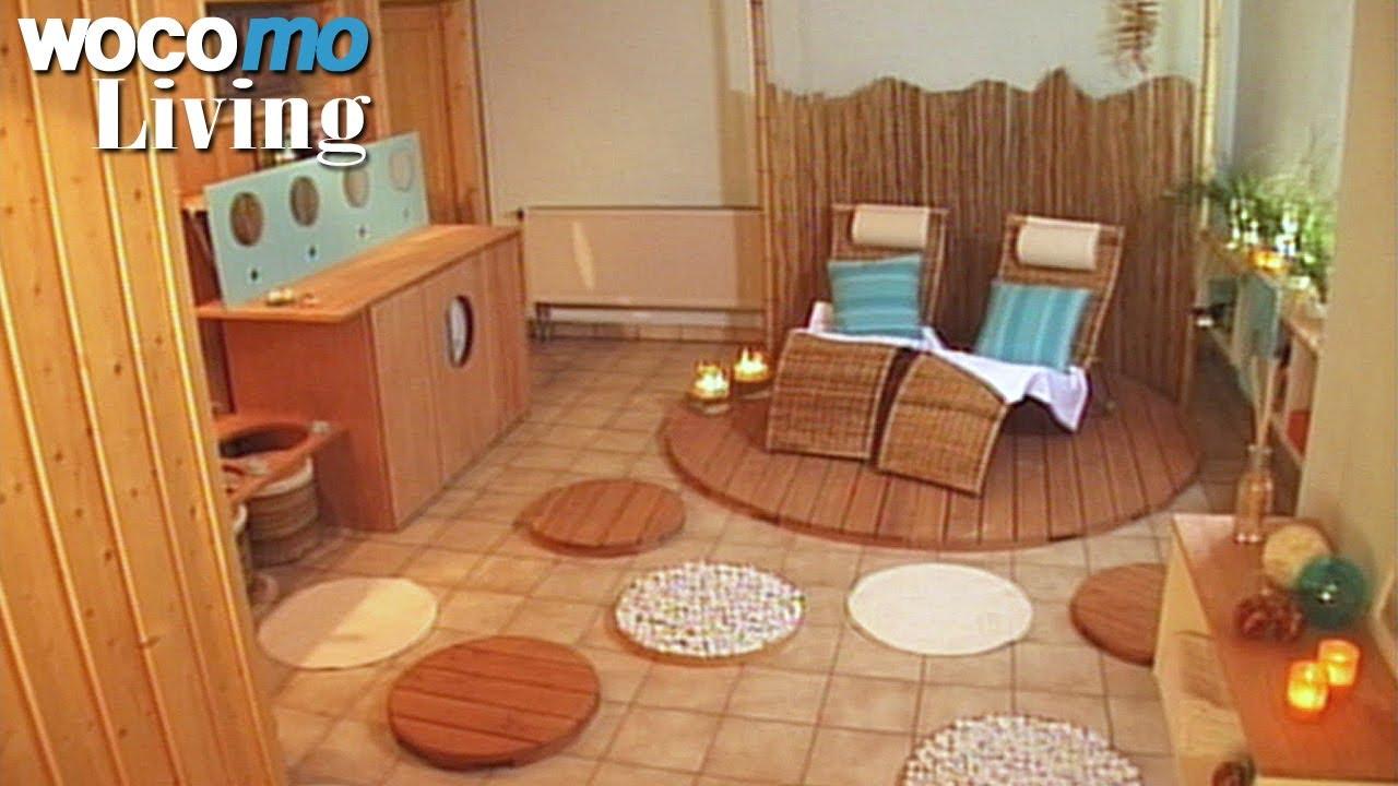 Wellnessraum keller  Sauna renovieren - Tapetenwechsel (BR) | Staffel 8 - Folge 7 - YouTube
