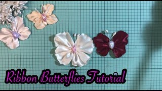 Ribbon Butterflies tutorial