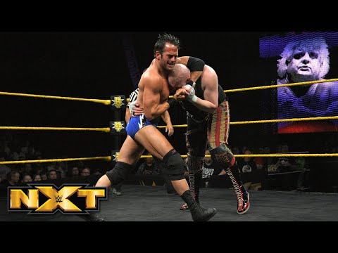 SAnitY vs. Roderick Strong & Pete Dunne  Dusty Rhodes Classic Semifinal: WWE NXT, March 28, 2018