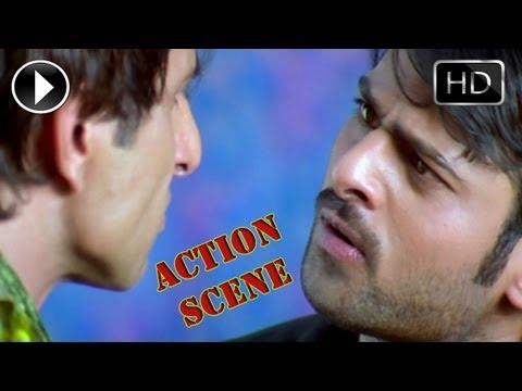 Ek Niranjan Movie | Action Between Sonu Sood, Kailash & Prabhas