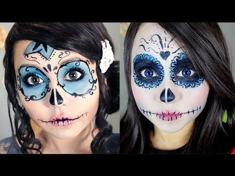 maquillate como catrina... con Miku ♥ - YouTube