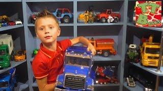 BRUDER CARS TOYS Брудер Машинки Обзор Игрушек Игорек и Арина Игры и Развлечения для детей