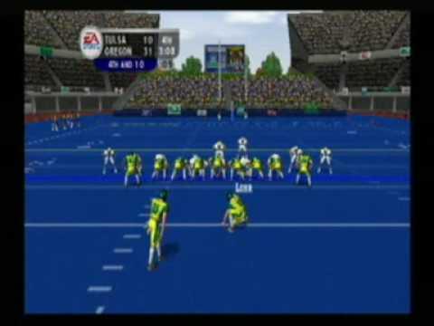 NCAA Football 2004 - Tulsa - Oregon - Humanitarian Bowl ...