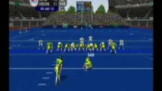 NCAA Football 2004 - Tulsa - Oregon - Humanitarian Bowl