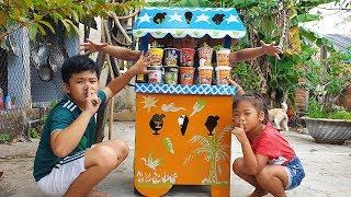 Bé Trốn Ăn Mì ❤ ChiChi ToysReview TV ❤ Đồ Chơi Trẻ Em Bài Hát Hide and Seek eat Noodles