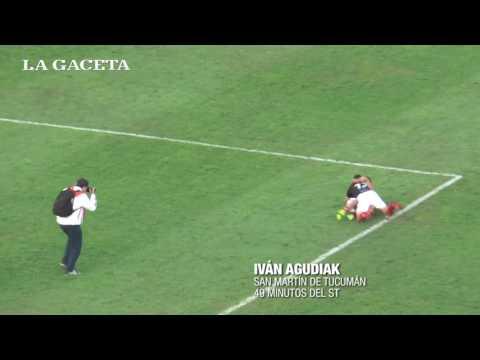 Sobre la hora, con un agónico gol, San Martín de Tucumán logró la clasificación