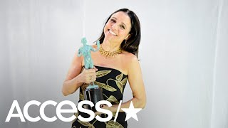 Julia Louis-Dreyfus Tweets About Her 2018 SAG Awards Win As She Recovers From Cancer | Access