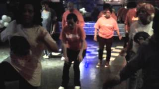 """Behave Yourself "", Line Dance, #JesMove2 Annual Christmas Party  @SoopsTheUltimate 12/21/14 @soo..."