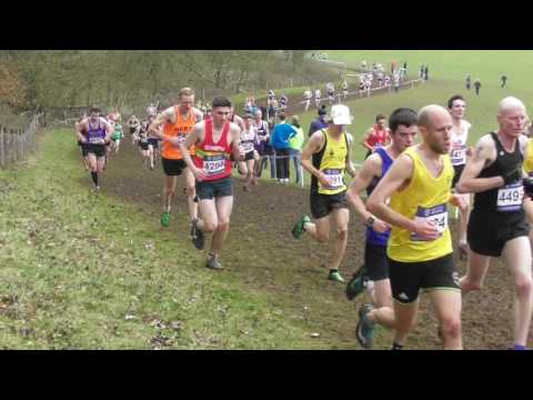 Senior Men UK Inter Counties National Cross Country Championships 11032017