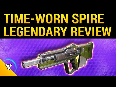 Iron Banner: The Time-Worn Spire - Pulse Rifle Review