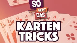 2 COOLE Kartentricks für Anfänger (feat. Sprink)