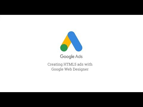 Google Web Designer For Google Ads Demo Youtube