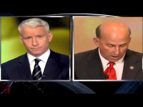 CNN Official Interview  Rep Louie Gohmert defends 'terror babies' to Anderson Cooper