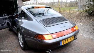 Porsche 993 Carrera 3.6 With Sport exhaust Start-up [HD]