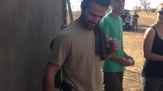 Kevin Richardson and Pink | Kevin Richardson Lion Whisperer South Africa