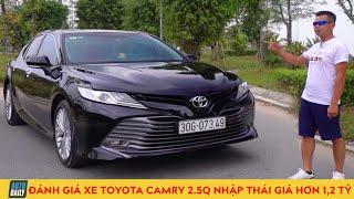Đánh giá xe Toyota Camry 2020 2.5Q nhập Thái