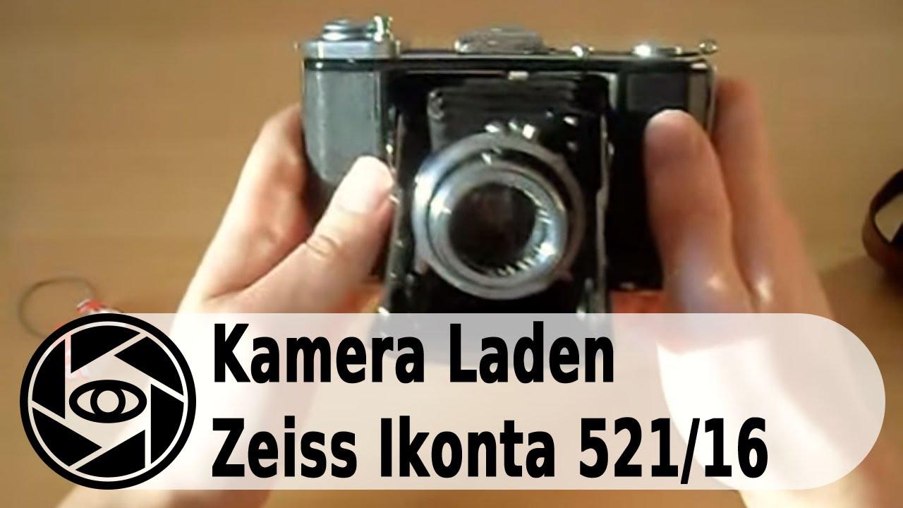 Zeiss Ikonta 521/16 Analog Kamera: Laden und Entladen