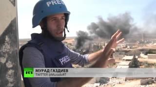 Демонстрация точности российских авиабомб! ВКС РФ мочит Игил в сортире