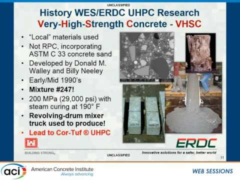 Development of Ultra-High-Performance Concretes for Dry Cask Waste Storage Applications
