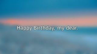 Скачать Happy Birthday My Dear