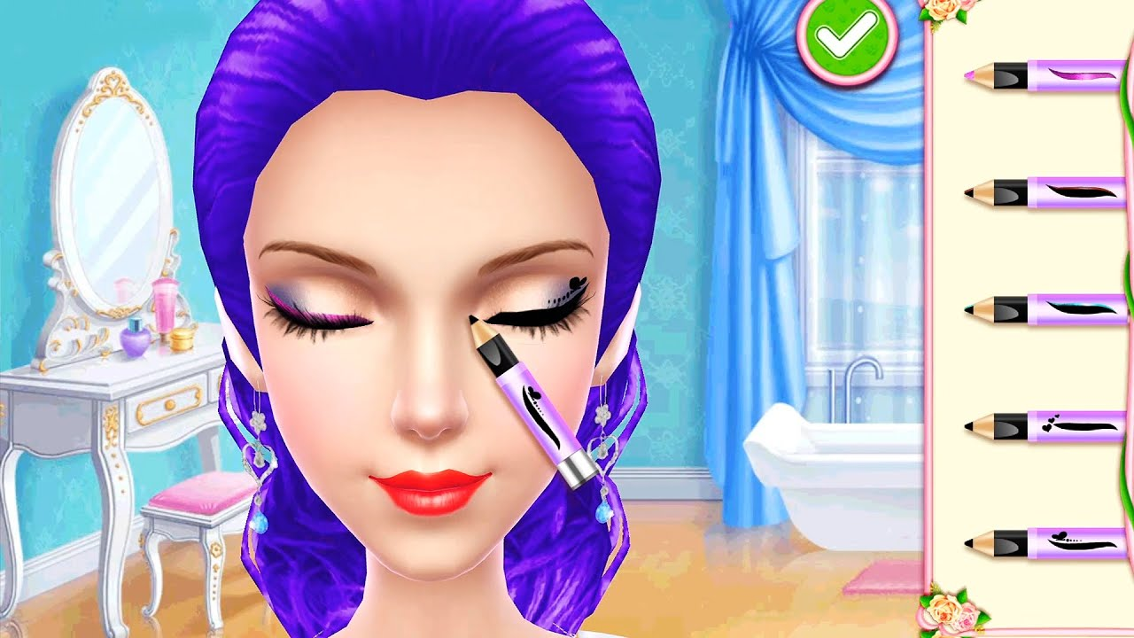Wedding Planner Girl Game - Bridal Makeup, Dress Up, Color Hairstyles & Cakes Design Game For girls