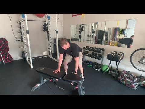 Parallel Stance Single-Arm Pronated DB Row