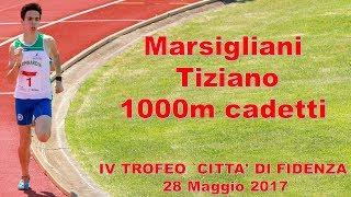 Fidenza 1000m cadetti 2002 IV Trofeo città di Fidenza 28 Maggio 2017
