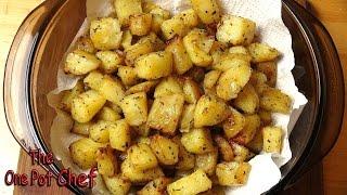 Seasoned Roast Potato Bites  One Pot Chef