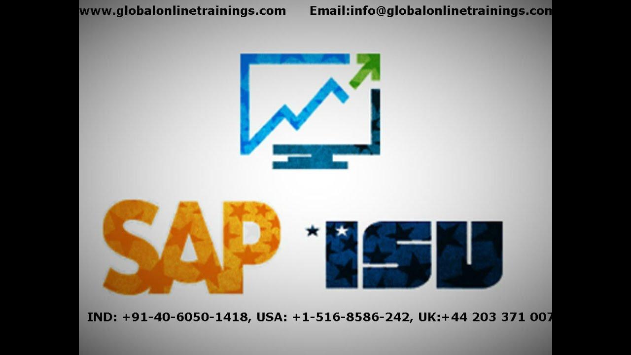 SAP ISU Training video   SAP IS Utilities Training demo