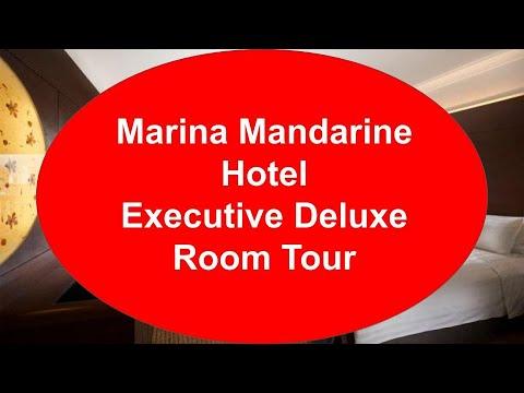 Marina Mandarin Hotel Singapore Executive Deluxe Room Tour 新加坡滨华大酒店