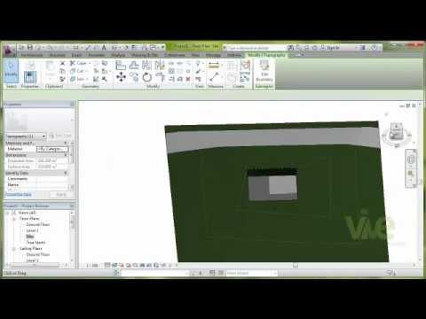 "Tutorial: ""Topography in Autodesk Revit Architecture 2013"""