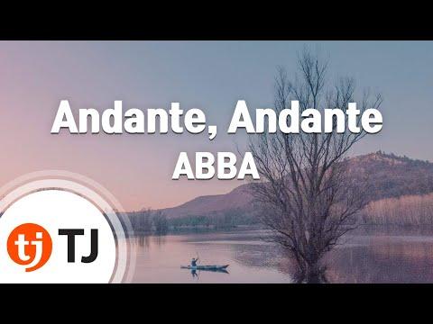 [TJ노래방] Andante, Andante - ABBA / TJ Karaoke