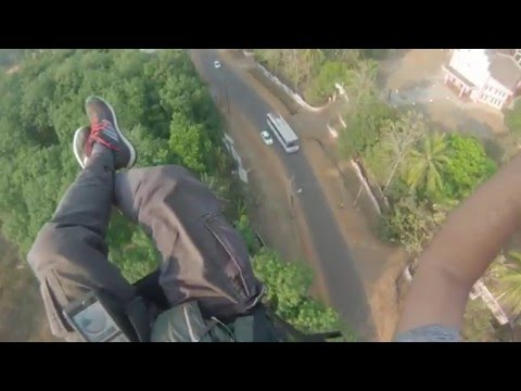 Paramotor flying Cherupuzha