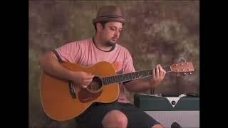 Classic Acoustic Blues Guitar (Lick & Riff lesson) Key of E