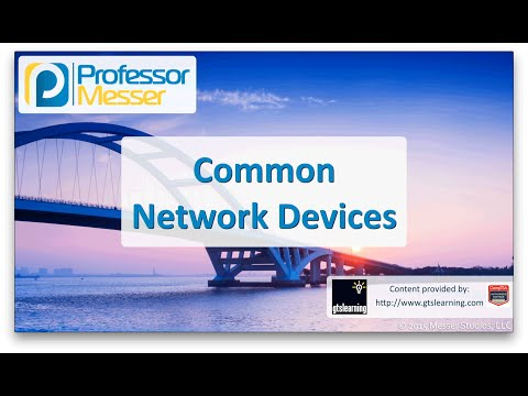 Common Network Devices - CompTIA Network+ N10-006 - 1.1