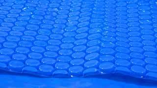 Solární plachta na bazén - modrá - 360 mikronů