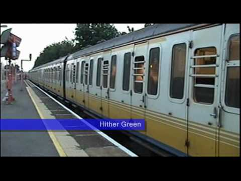 & Slam Door trains VEP CEP 09005 September 2005 - YouTube
