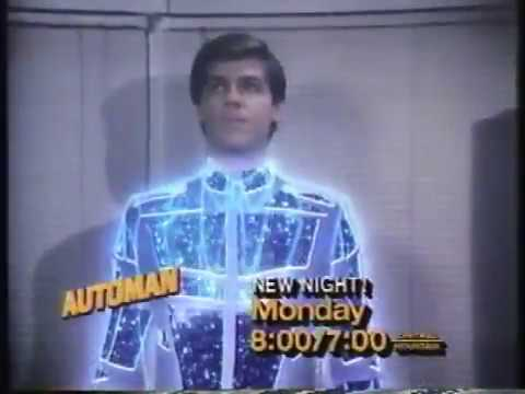 Automan & Dark Mirror 1984 ABC Promo