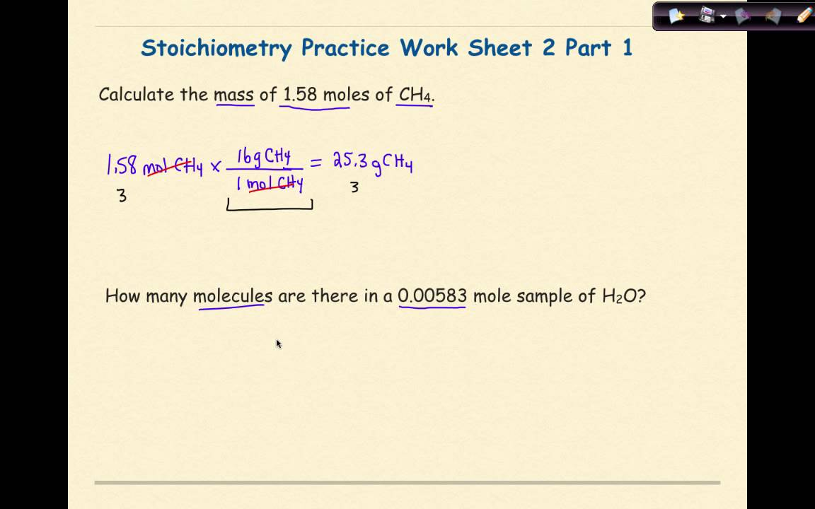 ap chemistry stoichiometry worksheet 2 set 1 youtube. Black Bedroom Furniture Sets. Home Design Ideas