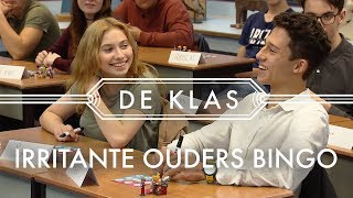 Irritante ouders bingo 🙈 | De Klas met Özcan Akyol