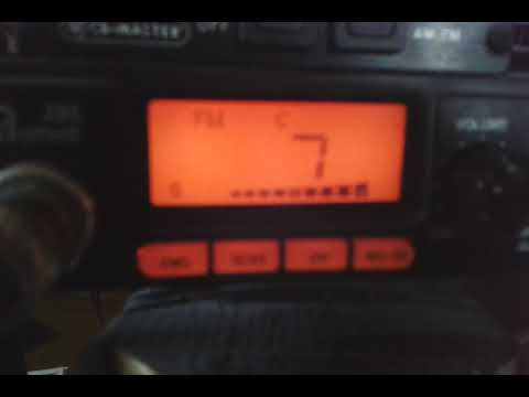 Pirate transmitter radio 101.de 27.8.2017 in the middle czech republic Jo80ca. cb radio