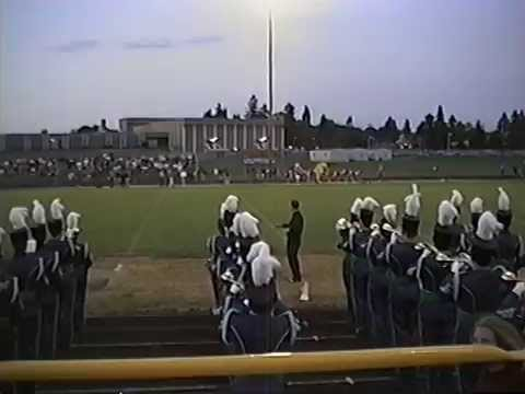 1993-94 Aloha High School Marching Band at Aloha Pregame