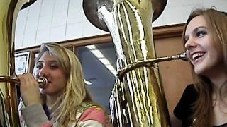 South Haven High School Tuba Girls