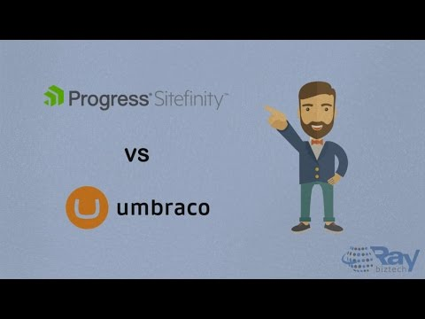 Sitefinity Vs Umbraco CMS
