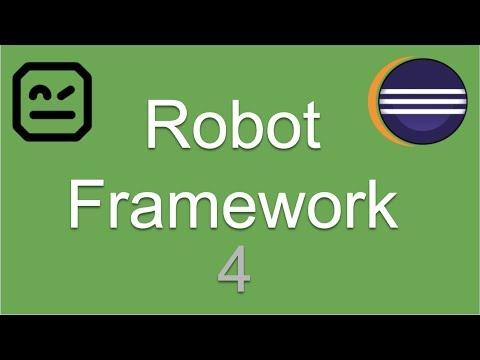Repeat Robot Framework: Introduction to Robot Framework