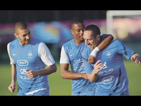 Ribery Amazing Skill at France Training HD